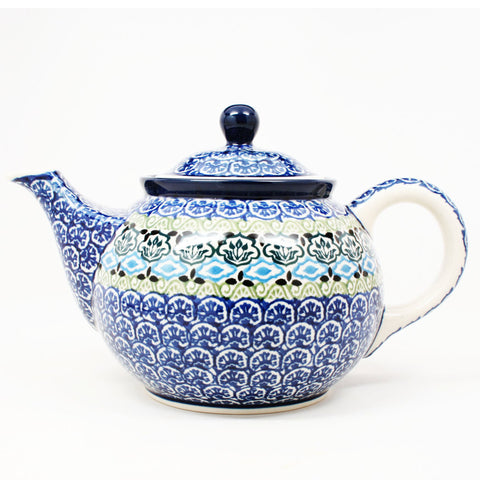 polish-pottery-30oz-teapot-#1858