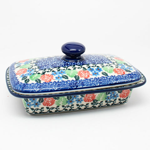 polish-pottery-butter-dish-#1498