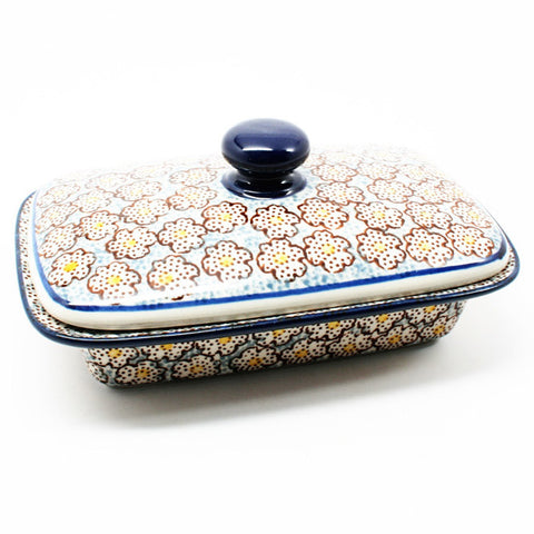 polish-pottery-butter-dish-#2113