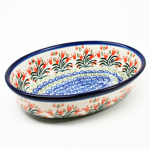 "Small 9.5"" Oval Baker #1431"