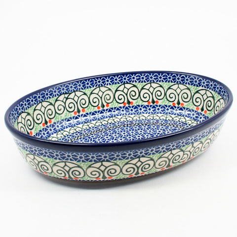 "Small 9.5"" Oval Baker #826"