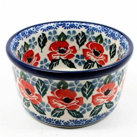 polish-pottery-ramekin-#1490