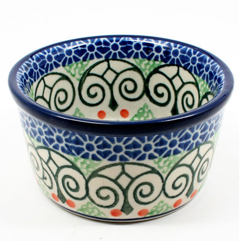 polish-pottery-ramekin-#826