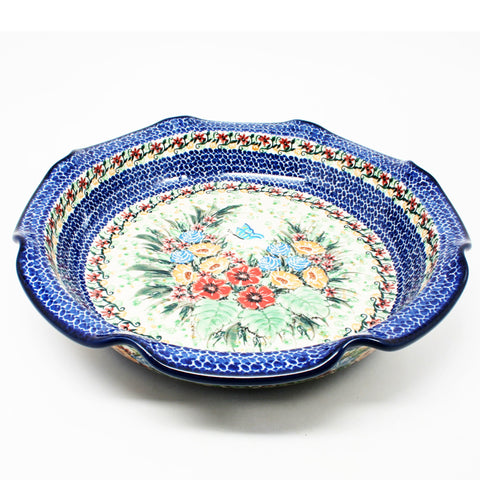 UNIKAT Large Scalloped Bowl #U3789