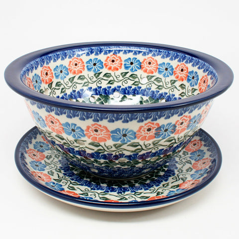 polish-pottery-berry-bowl-#1369