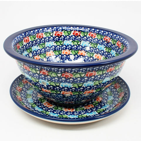 polish-pottery-berry-bowl-#1725