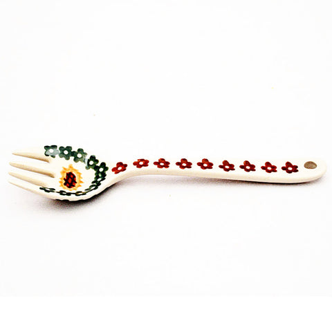 polish-pottery-small-fork-#1207