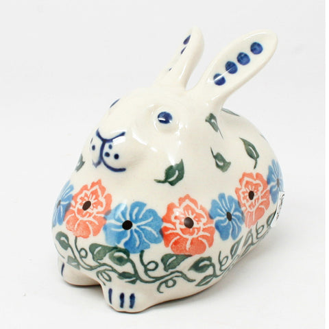 polish-pottery-miniature-bunny-rabbit-#1369