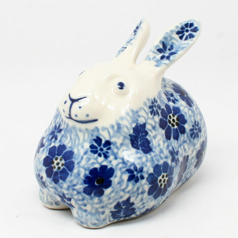 polish-pottery-miniature-bunny-rabbit-#1443
