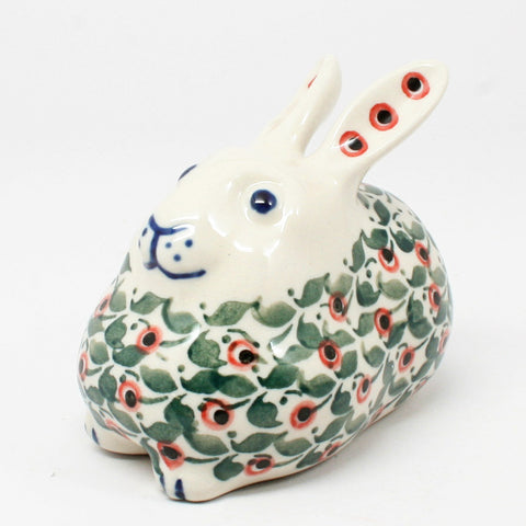 polish-pottery-miniature-bunny-rabbit-#1543