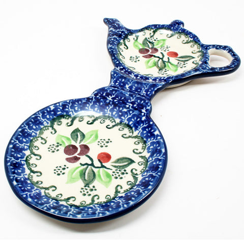 polish-pottery-mug-tea-bag-holder-#1418