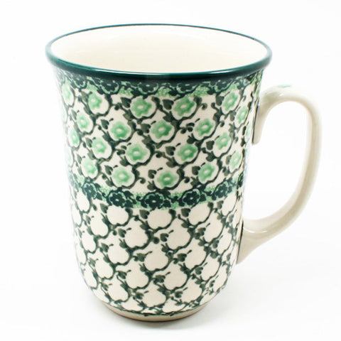 polish-pottery-tall-bistro-mug-#1797