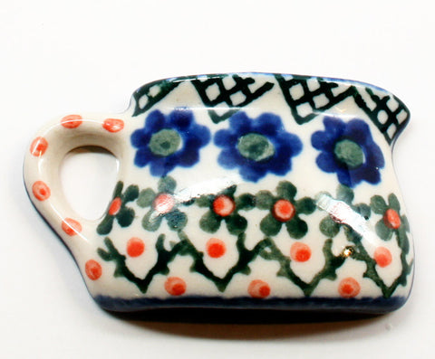 polish-pottery-mug-magnet-#854