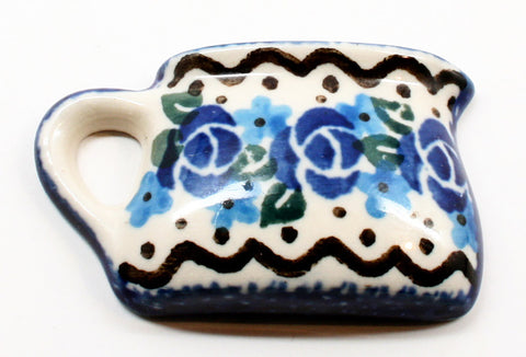 polish-pottery-mug-magnet-#882