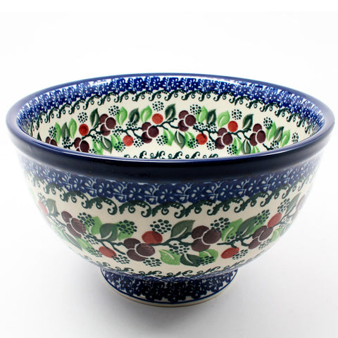 polish-pottery-bowl-#1418