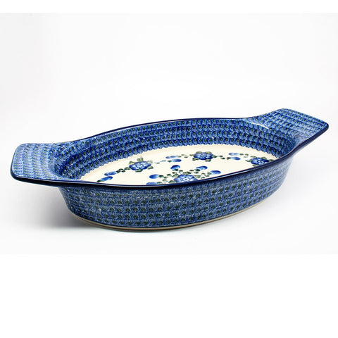 polish-pottery-basket-#163