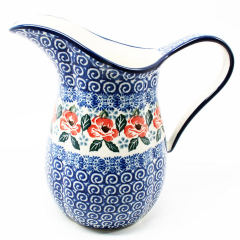 polish-pottery-small-pitcher-#1490