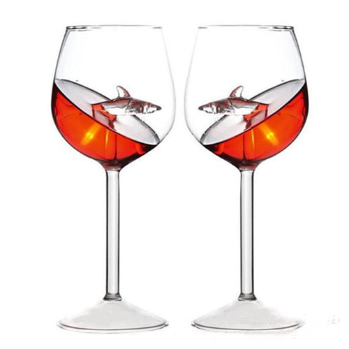 Shark Wine Glass Goblets