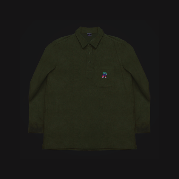 Corduroy Pullover Military