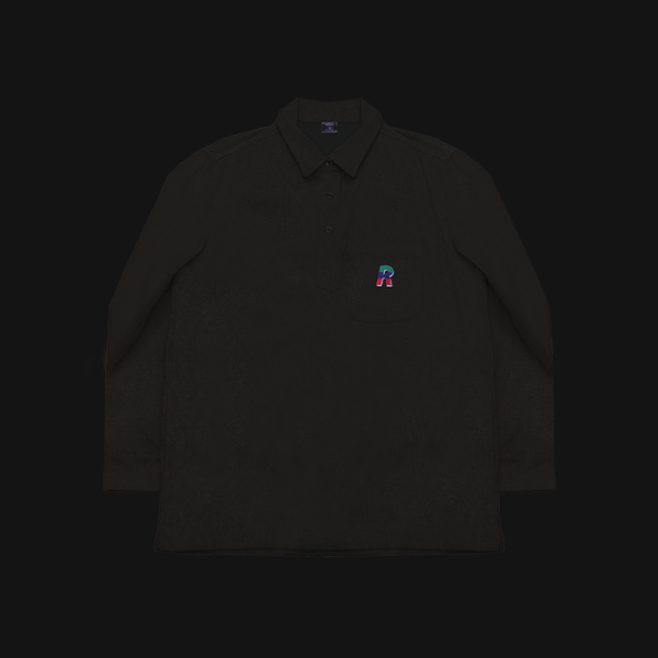 Corduroy Pullover Charcoal