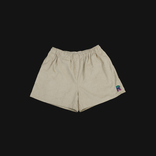 Corduroy Shorts Cream