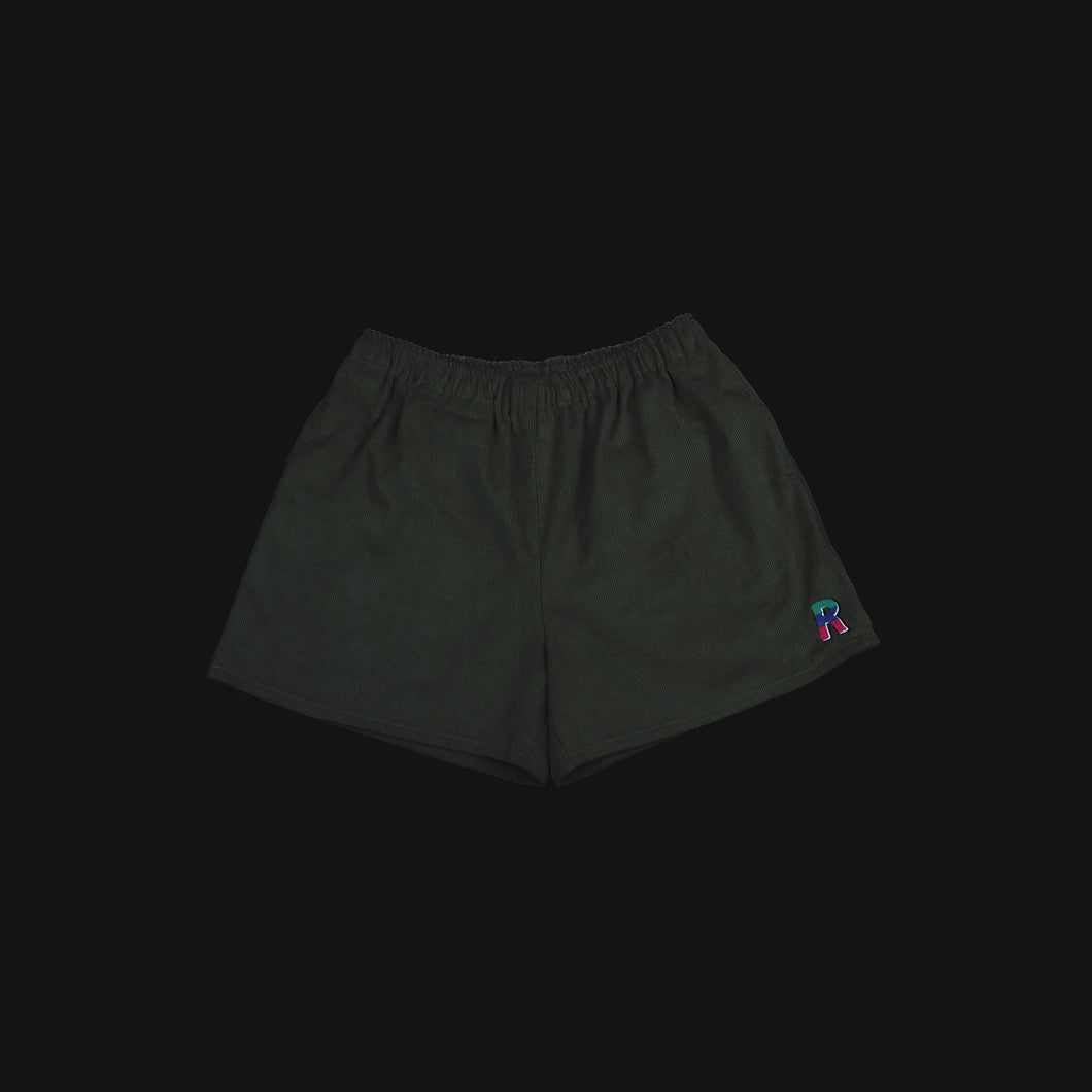 Corduroy Shorts Military