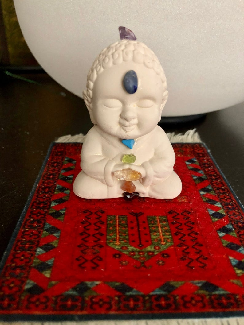 Little Praying Chakra Buddha