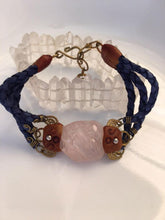 Load image into Gallery viewer, Braided Spiritual Jewelry with Rose Quartz