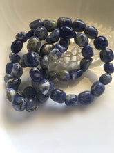 Load image into Gallery viewer, Sodalite Nugget Bracelet