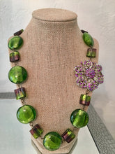 Load image into Gallery viewer, Venetian Lampwork Necklace