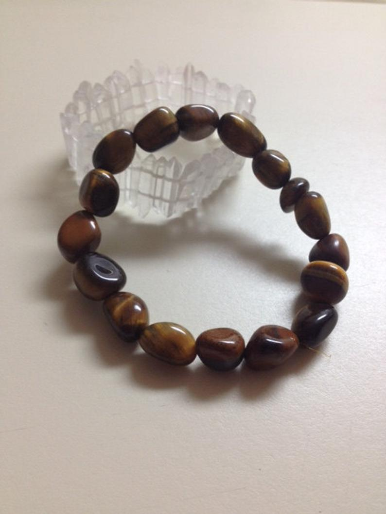 Tiger's Eye Nugget Bracelet