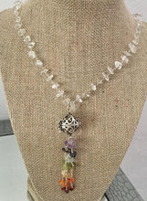 Load image into Gallery viewer, Chakra Necklace with Perfume Charm