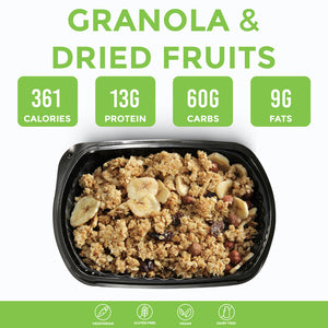 Granola and Dried Fruits