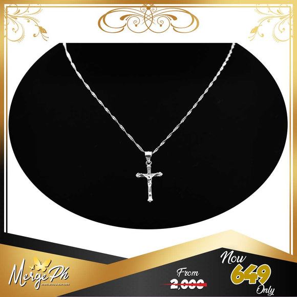 Merge Luxury Cross Necklace N1