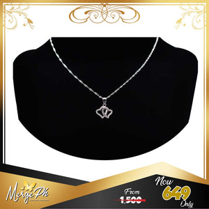 Merge Luxury Twin Heart Necklace OS1