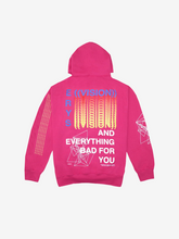 Load image into Gallery viewer, ERYS TOUR HOODIE, PINK