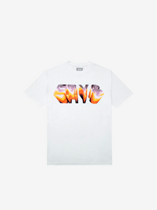 CHROME T-SHIRT, WHITE