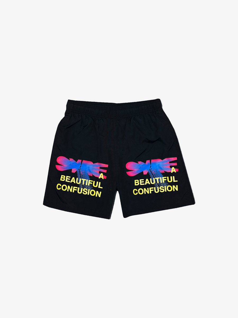 SYRE TOUR TRUNKS, BLACK