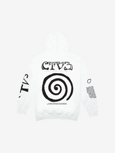 Load image into Gallery viewer, CTV3: COOL TAPE VOLUME 3 TOUR HOODIE, WHITE