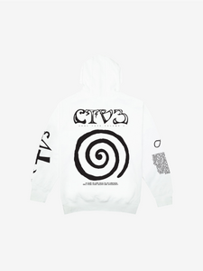 CTV3: COOL TAPE VOLUME 3 TOUR HOODIE, WHITE