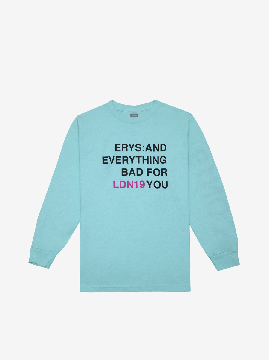 ERYS: AND EVERYTHING BAD FOR YOU, BLUE
