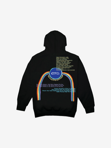 CTV3: COOL TAPE VOLUME 3 INTO ETERNITY HOODIE, BLACK