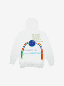 CTV3: COOL TAPE VOLUME 3 INTO ETERNITY HOODIE, WHITE