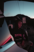 Load image into Gallery viewer, SYRE TOUR HOODIE, BLACK