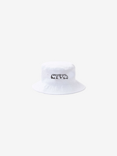 Load image into Gallery viewer, CTV3: COOL TAPE VOLUME 3 BUCKET HAT, WHITE + DIGITAL ALBUM