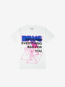 ERYS: TOUR T-SHIRT, WHITE