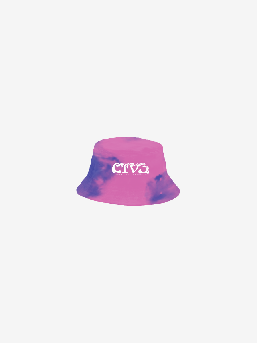 CTV3: COOL TAPE VOLUME 3 BUCKET HAT, TIE DYE + DIGITAL ALBUM