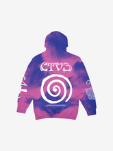 Load image into Gallery viewer, CTV3: COOL TAPE VOLUME 3 TOUR HOODIE, TIE DYE + DIGITAL ALBUM