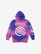 Load image into Gallery viewer, CTV3: COOL TAPE VOLUME 3 TOUR HOODIE, TIE DYE