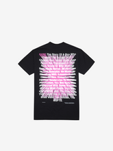 Load image into Gallery viewer, SYRE TOUR T-SHIRT, BLACK